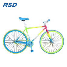 26 Inch hi-ten steel taiwan fixed gear bike,china factory wholesale fixed gear bike,alibaba one speed bikes 700c fixed gear