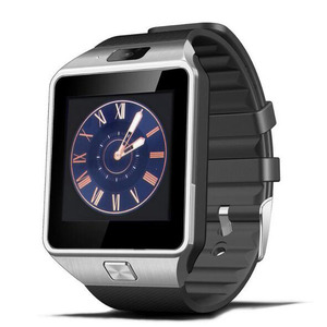 Custom made cheap waterproof wrist Phone For Android&IOS Wrist watch bluetooth smart watch DZ09