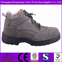 Nubuck chemical ,gasoline industry work protection shoes