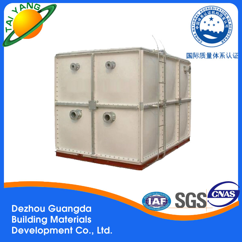 Guangda hot selling SMC GRP Water Tank/water storage tank for wholesales