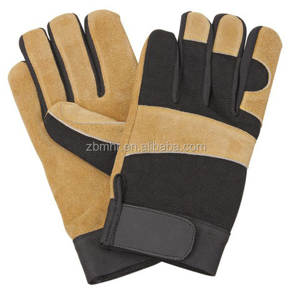 Brand MHR Hot!Reinforced top gloves malaysia 16 inch welding gloves