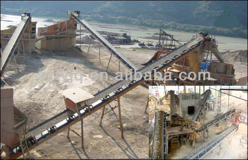 high quality Belt Conveyor For Stone Mining with low price