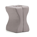 Leg Rest Memory Foam Contour Knee Pillow Best Quality Sleep Helper Comfort Leg Pillow With Removable Cover For Side Sleeper