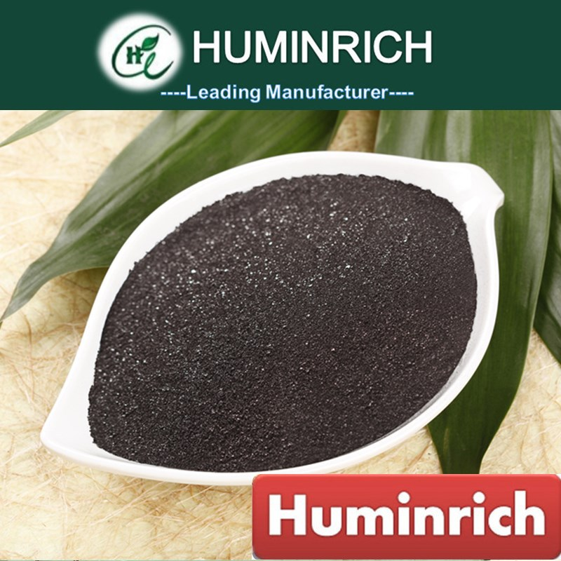 Huminrich Reduced Shipping Cost For All Soils 75%HA+15%FA+12%K2O Fulvic Humic Acid Fertilizer Manufacturers