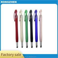 stylus gel pen plastic promotional roller ball point pen