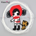 carton beatiful embroidery patch for children