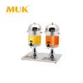 MUK wholesale restaurant supplier juice bucket with 2 tanks juice dispenser