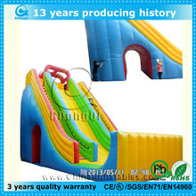 outdoor fun large inflatable jumping slides