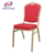 Stacking hotel metal iron chair with new design chair