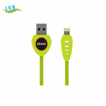 micro usb cable both for Iphone 7 and Android smartphone charging cables X1