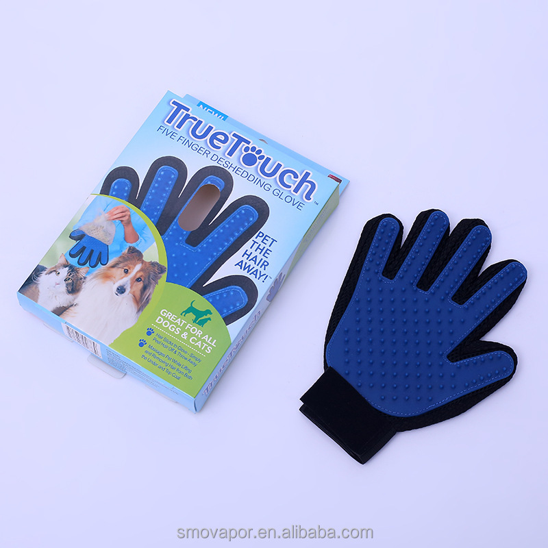 Eco-friendly Silicon pet grooming glove brush