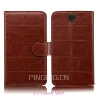for Lenovo A850+ case, book style leather flip case for Lenovo A850+
