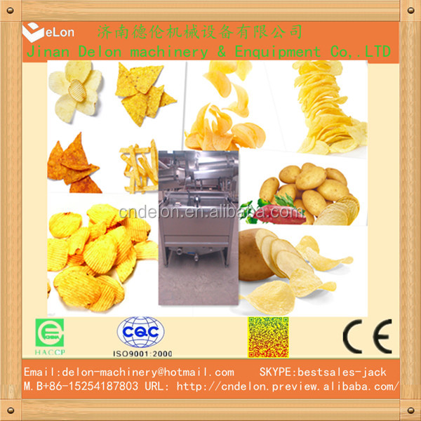 Good quality Frozen french fries production line
