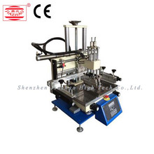 Semi Auto Flat Bed Silk Screen Printing Machine For solar cell / PVC card