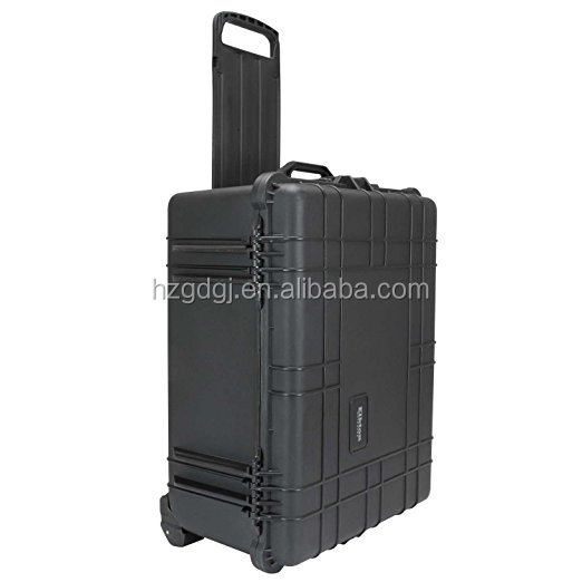 Plastic Trolley hard plastic PP IP67 tool case tool box