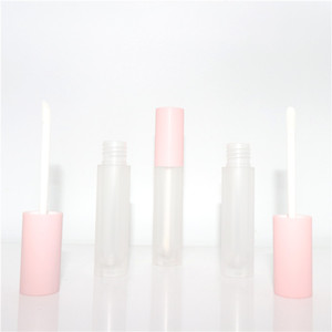 Wholesale cosmetic makeup lipstick packaging tube custom natural private label lipstick lip gloss container