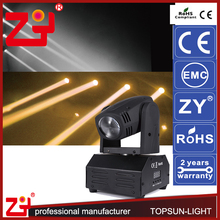 2016New Design h4 led high low beam 10w moving head light