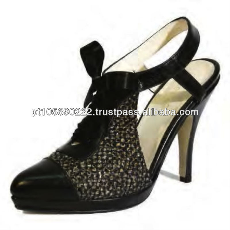 Shoes in leather Dido 9638