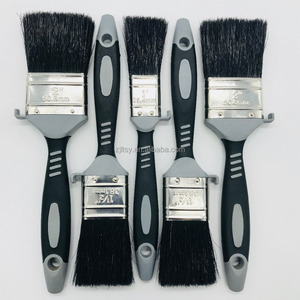 High Quality Rubber Handle Paint Brush Manufacturer