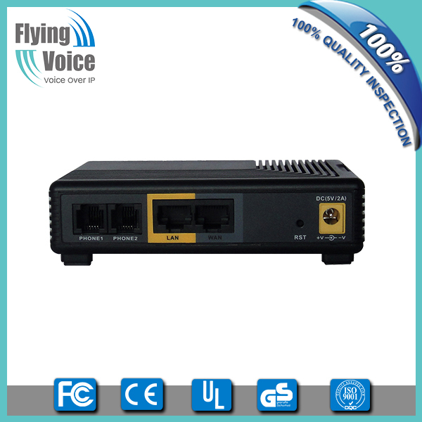 ATA voip adapter with 2 fxs port compatible with Cisco/Avaya G502N