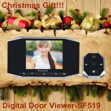 polymer clay christmas ornaments video infrared peephole digital door viewer