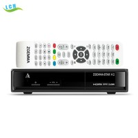 Best selling product in UK Zgemma-star H2 DVB-S2+T2 Twin tuner 751MHz Full HD satellite receiver Zgemma star H2 decoders
