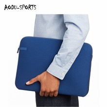 2018 promotion product neoprene men business 17 inch laptop sleeve bag