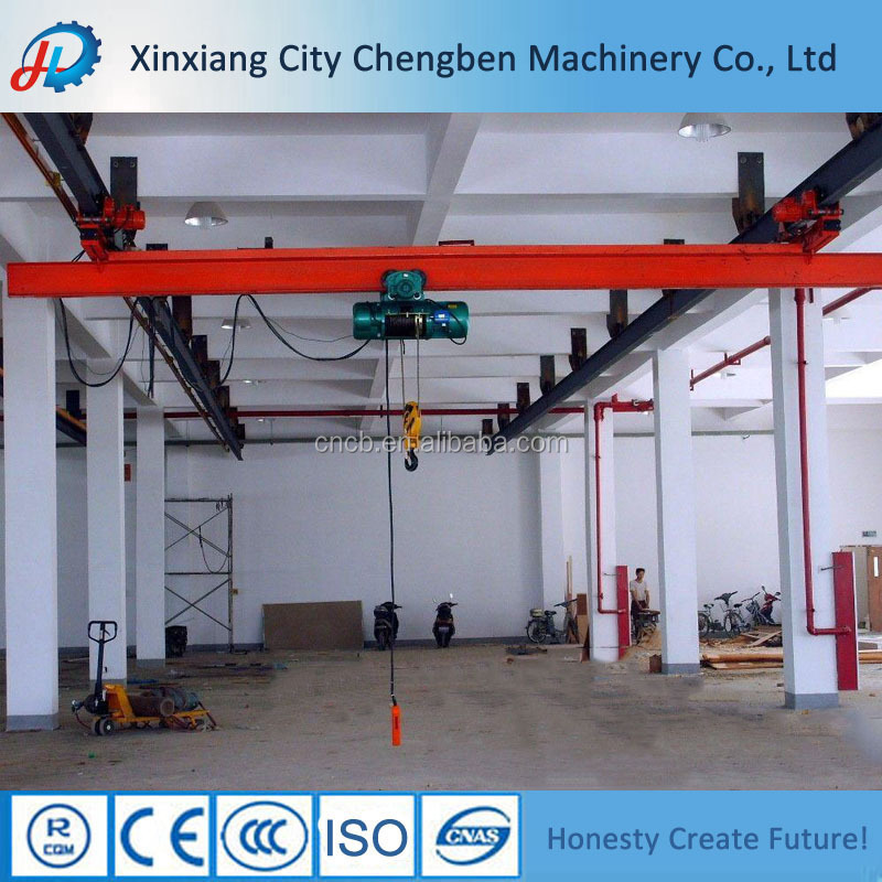 China Factory Price Single Girder Suspension Overhead Crane