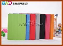 PU 4 fold stand case for ipad mini ball pattern