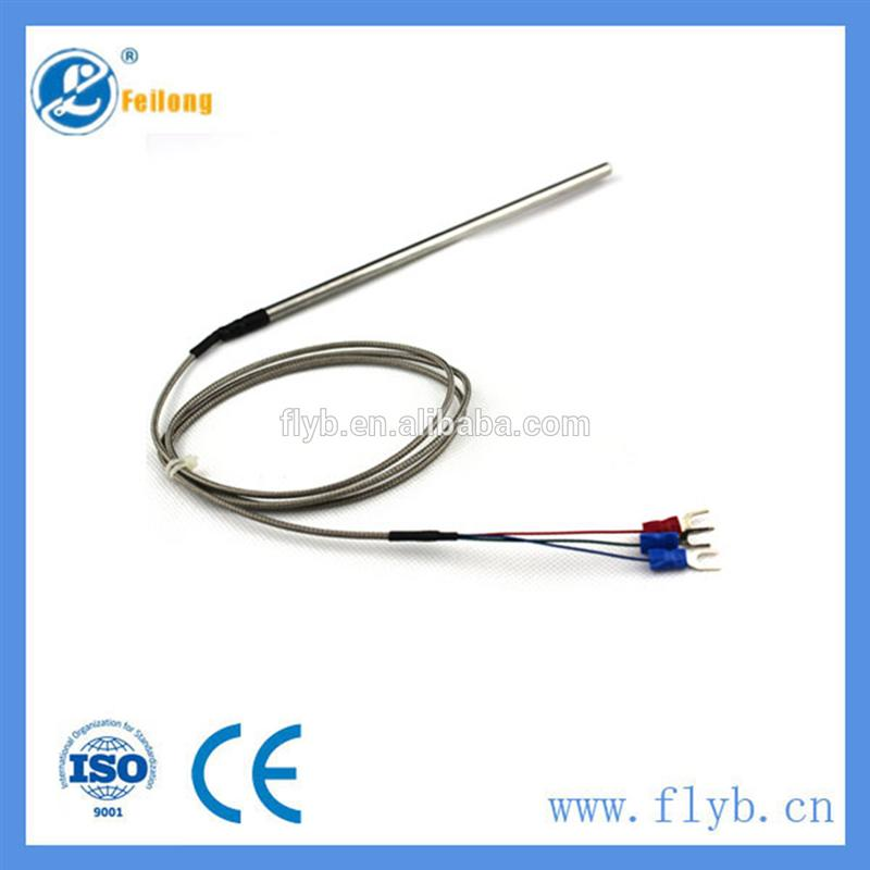 CE/ISO/ROHS certificate pt100 rtd sensor with mi rtd cable for pt100 with great price