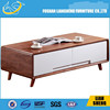 Antique style wooden coffee table, wood tea table, table with legs CT002-M3-13