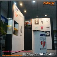 custom trade show clothing pop up display for shop