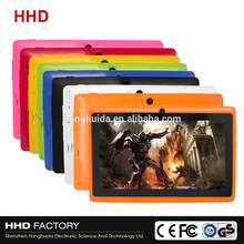high qulity 7 Inch Quad Core android 4.4 super smart tablet pc