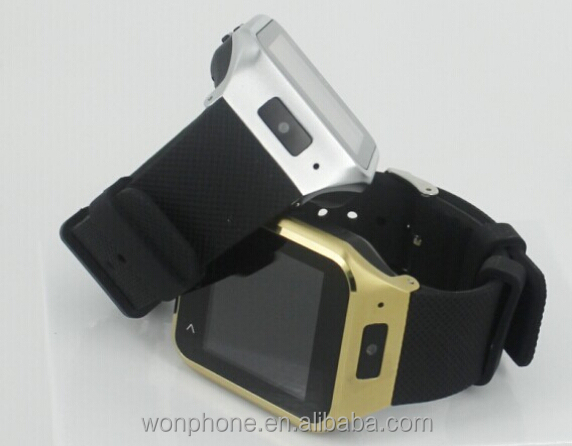 OEM&ODM S8 wrist watch phone android 4.4OS <strong>GSM</strong>+WCDMA 3G call CE &ROSE