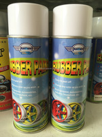 450ml car body rubber spray paint
