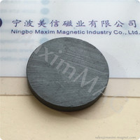 Disc Ferrite Magnets/Ceramic disc magnets C5 grade