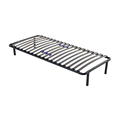 Slot type Knock Down Slatted Metal bed Frame
