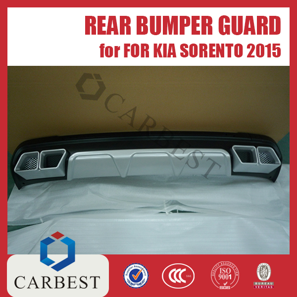 High Quality Rear Bumper Guard for KIA SORENTO 2015