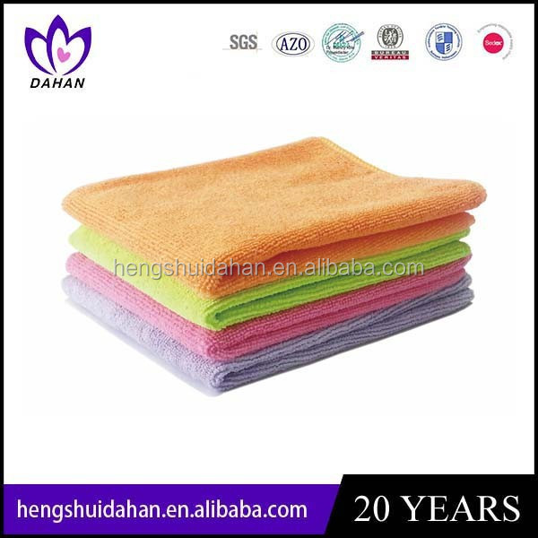 promotion colorful microfiber hand /car washing towel