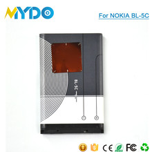 best batteries manufacturer BL-5C Battery for Nokia Mobile Phone