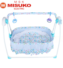 Indian baby sleep swing cribs electric swing baby cradle bed