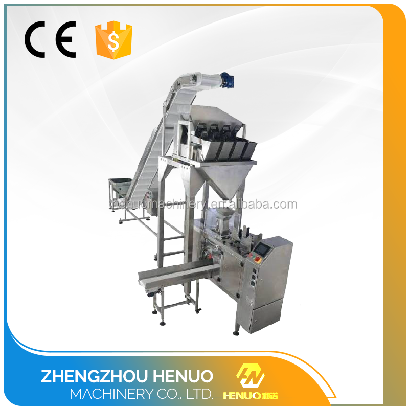 Fully automatic small powder packing machine coffee powder packing machine