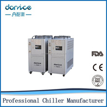 CE air to water chiller for injection molding machine
