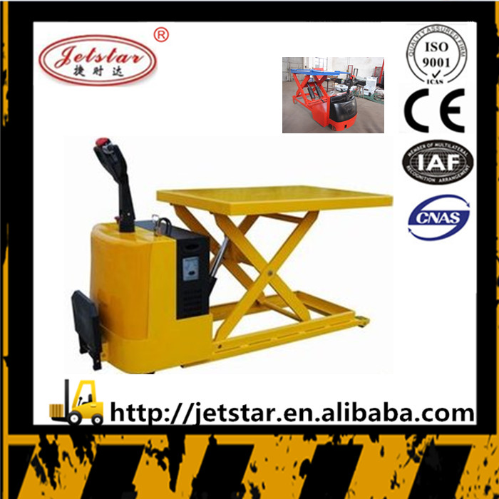 electric hardness iron hydraulic high lifting Platform Truck