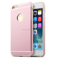 Luxury cover metal aluminum bumper frame mobile phone case for iphone