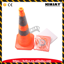 Portable Pop Up Collapsible 72cm Traffic Road Cone Car Accident Safety Accessory