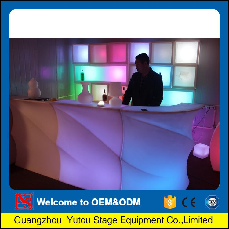 China wholesale products High quality led lighting dj booth bar counter