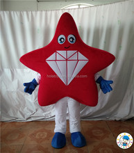 Giant red star shape costume/character mascot costumes/mascot costume