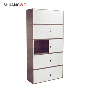 Stainless Steel File Cabinet Modulates With Metal Lock