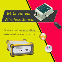 G7-H2Ex 64 wireless sensors humidity pulse wave sensor and recording in one single system